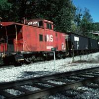 NS mine run at Kent Jct, VA