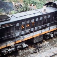 K&T S2 101 at Stearns, KY, May 1975 -Jay Thompson