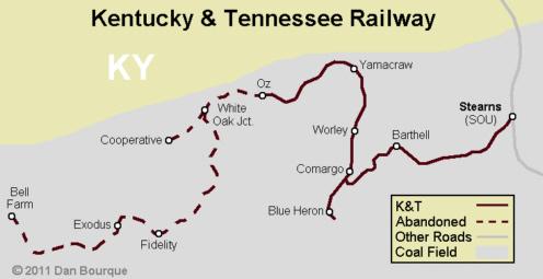 K&T Kentucky & Tennessee – Appalachian Railroad Modeling