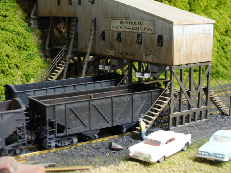 Coal Loader in HO by Brian Kelly