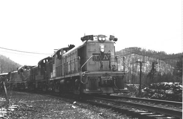 L&N RS3 113, Appalachia, VA