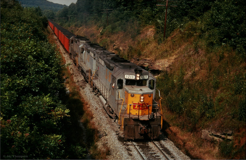 L&N SD35 1211, Faber, KY