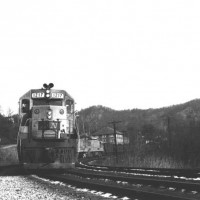 L&N SD35 1217, Appalachia, VA