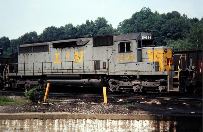 L&N SD40 1240, Hazard, KY