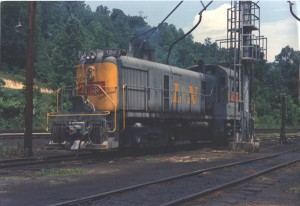 L&N RS3 at Loyall, KY, Jun 1965 -Ron Flanary