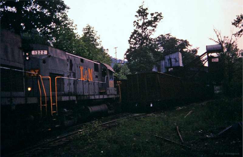 L&N C420 1322, Clairfield, TN