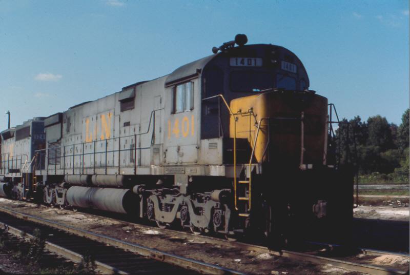 L&N C628 1401, Corbin, KY