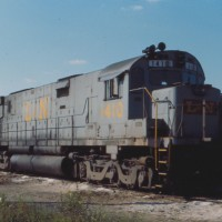 L&N C628 1410, Corbin, KY