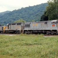 L&N U28C 1527, Big Stone Gap, VA