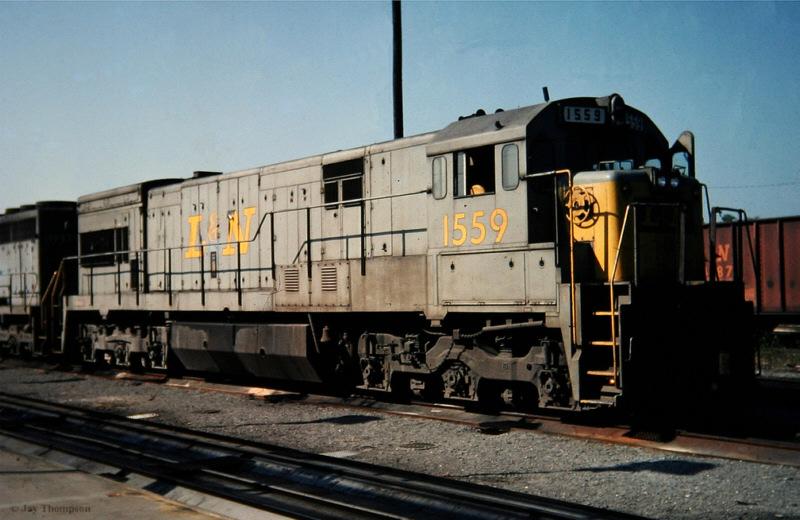 L&N U30C 1559, Etowah, TN