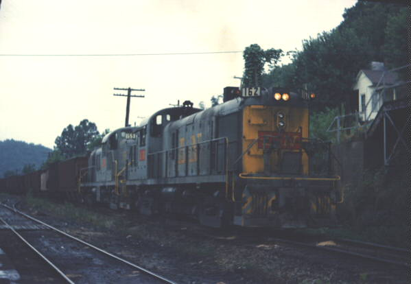 L&N RS3 162, Jackson, KY