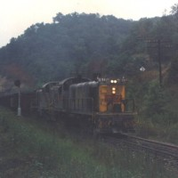 L&N RS3 162, Chenowee Tunnel, KY