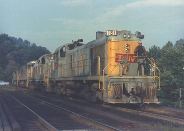 L&N RS3 181, Appalachia, VA