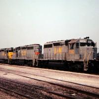 L&N SD40-2 3562, Etowah, TN