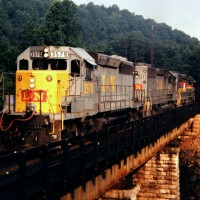 L&N SD40-2 3578, Byington, TN