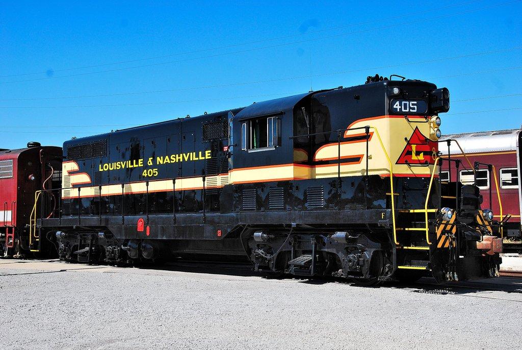 L&N GP7 405, Nashville, TN