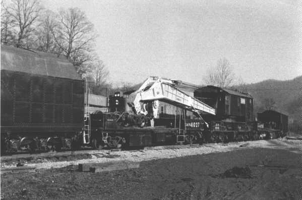 L&N wrecker 41027, Appalachia, VA