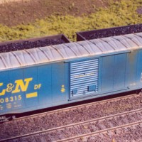L&N 50-ft boxcar in HO by Stu Thayer