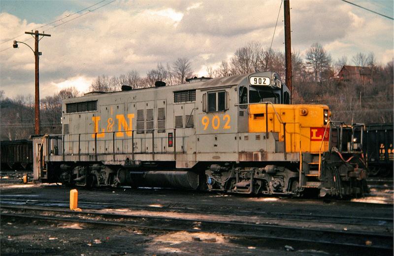 L&N GP18 902, Hazard, KY