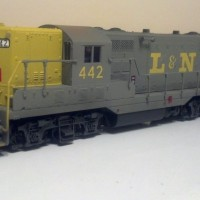 L&N GP7 in HO by Ryan Hilger