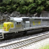 L&N HO scale SD40-2 model by Brent Johnson