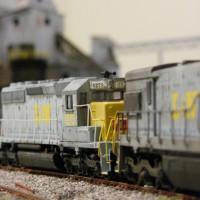 L&N SD40-2 in HO by Ryan Hilger
