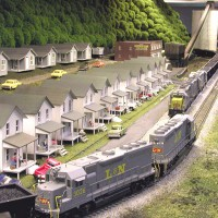 L&N coal trains in HO by Robby Vaughn