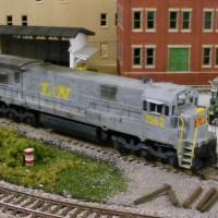 L&N U30C in HO by Ryan Hilger