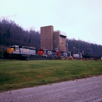 L&N unit train, Edgemoor, TN