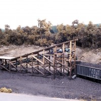 Truck dump coal loader in HO by John Wilkes