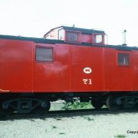 MGA caboose 71, Brownsville, PA