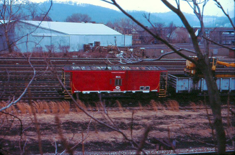 MGA caboose 901, Pittsburgh, PA