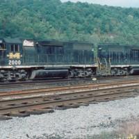 MGA GP38s at Brownsville, PA