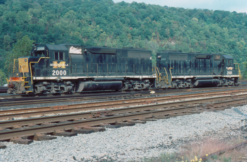 MGA GP38s at Brownsville, PA