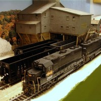 Monongahela GP38 in HO by Kevin Yackmack