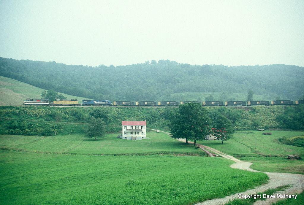 MGA train, Holbrook, PA