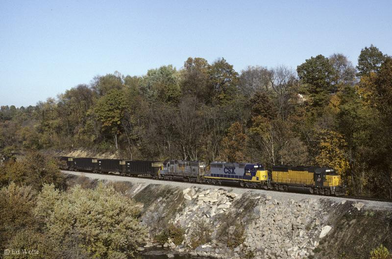 MGA coal at Mather, PA