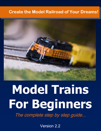 Model Trains for Beginners Cover