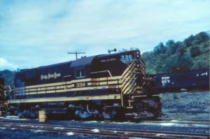 NKP RSD12 in southeastern Ohio -Dan Bourque collection