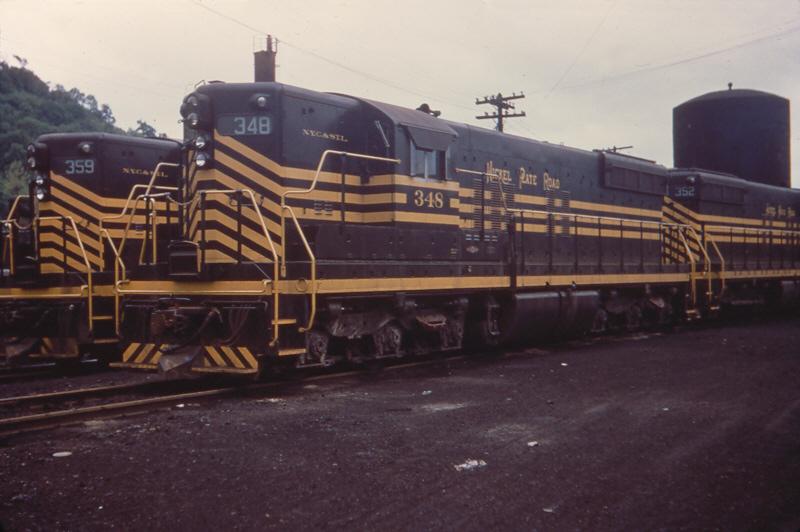 NKP SD9 348, Dillonvale, OH