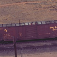 NKP 50-foot boxcar
