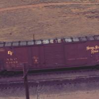NKP 50-foot boxcar
