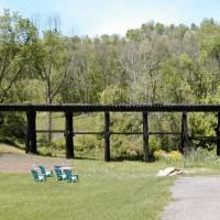 NKP bridge, Adena, OH