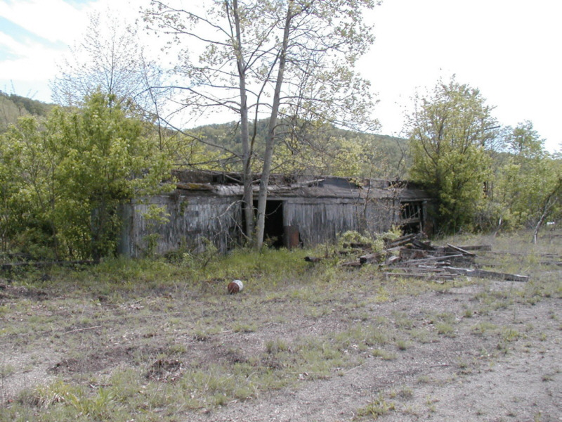 NKP storage shed, Dillonvale, OH