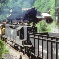 NS 1615 on mine run at Red Ash, VA