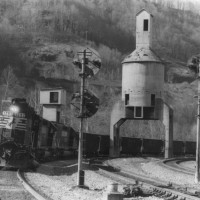 NS SD40-2 3293 at Farm, WV
