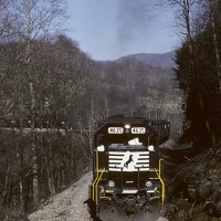 NS 4635 at East Stone Gap, VA