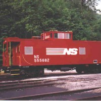 NS C31P cab at Toms Creek, VA