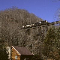 NS trestle at Bull Run, VA