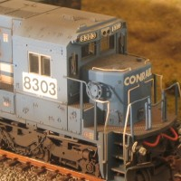 NS C40-8 in HO by Lenny Harlos